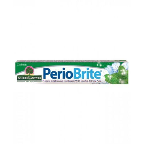 Nature's Answer PerioBrite Toothpaste Cool Mint - 4 oz -Oral Care- Allergy Free Me