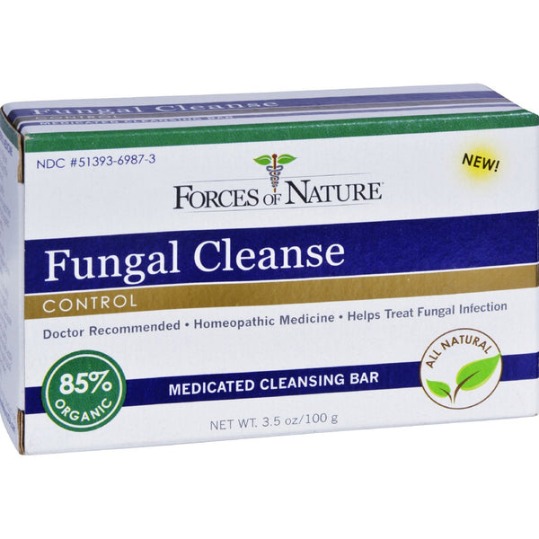 Forces of Nature Organic Fungal Cleanse - 3.5 oz -Medical- Allergy Free Me