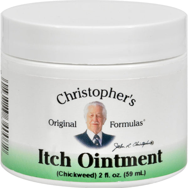 Dr. Christopher's Itch Ointment - 2 fl oz -Medical- Allergy Free Me