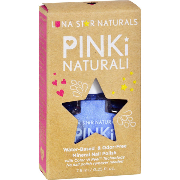 Lunastar Pinki Naturali Nail Polish - Little Rock (Powder Blue) - .25 fl oz - {shop_name}