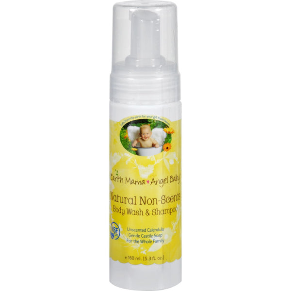 Earth Mama Angel Baby Shampoo and Body Wash - Organic Unscented - 5.3 oz - {shop_name}