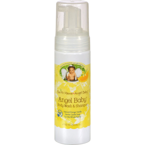 Earth Mama Angel Baby Shampoo and Body Wash - 5.3 fl oz - {shop_name}