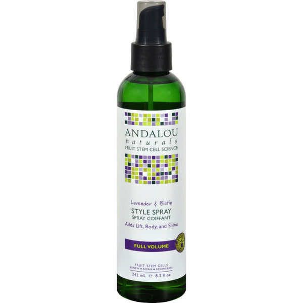 Andalou Naturals Full Volume Style Spray Lavender and Biotin - 8.2 fl oz - {shop_name}
