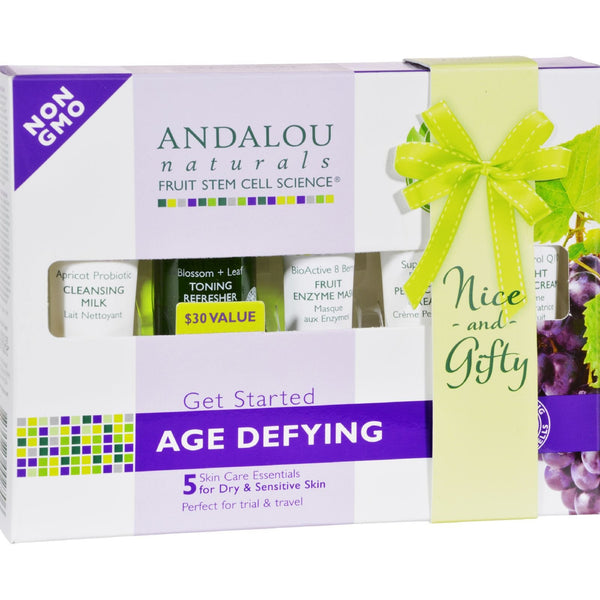 Andalou Naturals Get Started Age Defying - 5 Piece Kit - {shop_name}