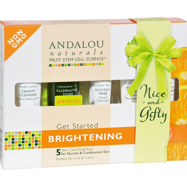 Andalou Naturals Get Started Brightening - 5 Piece Kit - {shop_name}
