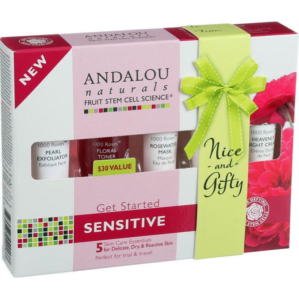 Andalou Naturals Get Started Kit - 1000 Roses - 5 Pieces - {shop_name}