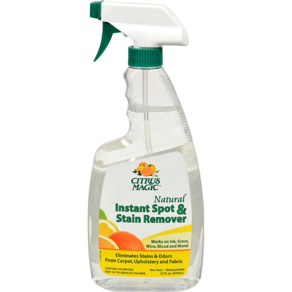 Citrus Magic Instant Spot and Stain Remover - 22 fl oz -Odor & Stain Removers- Allergy Free Me