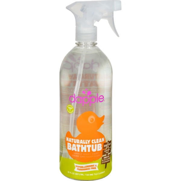 Dapple Tub and Tile Cleaner Spray - Fragrance Free - 30 fl oz -Household Cleaners- Allergy Free Me