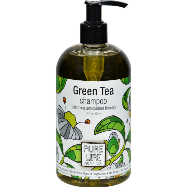 Pure Life Shampoo Green Tea - 15 fl oz -Shampoo- Allergy Free Me