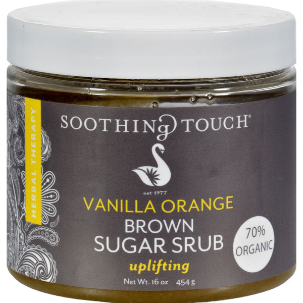 Soothing Touch Brown Sugar Scrub - Vanilla Orange - 16 oz - {shop_name}