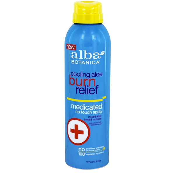 Alba Botanica Cooling Aloe Burn Relief - No Touch Spray - Case of 1 - 6 oz. - {shop_name}