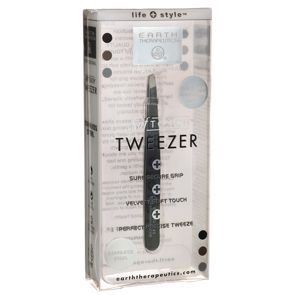 Earth Therapeutics Softouch Tweezer Black - 1 Unit - {shop_name}