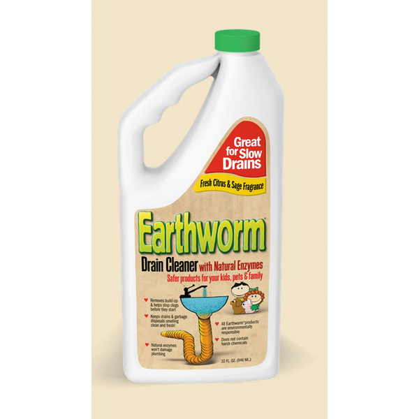 Earthworm Drain Cleaner - Case of 6 - 32 FL oz. - {shop_name}