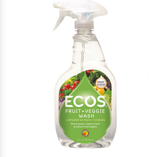 Earth Friendly Fruit and Vegetable Wash - Case of 6 - 22 FL oz. - {shop_name}