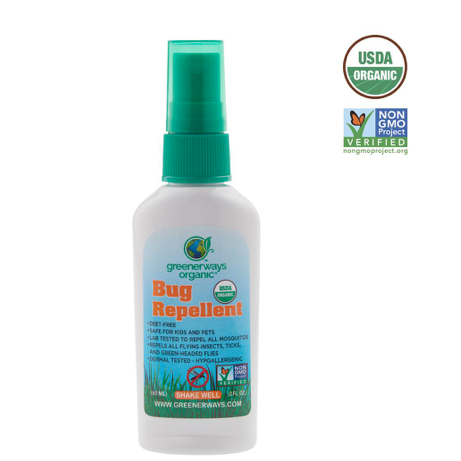 Greener ways Organic Insect Repellent - Case of 1 - 2 Fl oz. - {shop_name}