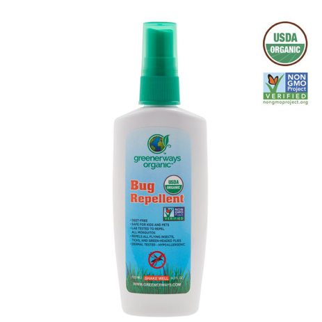 Greener ways Organic Insect Repellent - Case of 1 - 4 Fl oz. - {shop_name}