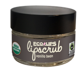 Ecolips Organic Lip Scrub - Vanilla Bean - Case of 6 - 0.5 oz. - {shop_name}