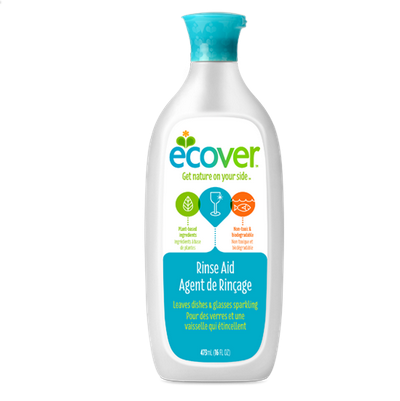 Ecover Rinse Aid For Dishwashers - Case of 12 - 16 FL oz. - {shop_name}