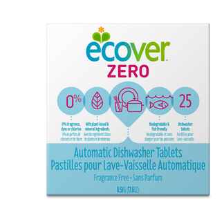 Ecover Zero Automatic Dishwasher Tablets - Case of 12 - 17.6 oz. - {shop_name}