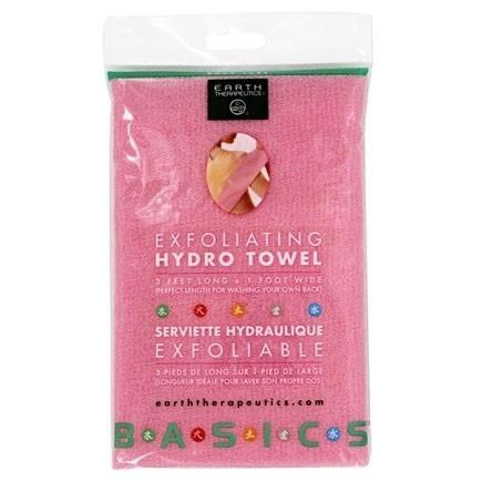 Earth Therapeutics Towel - Hydro - Exfoliating - Pink - 1 Count - {shop_name}