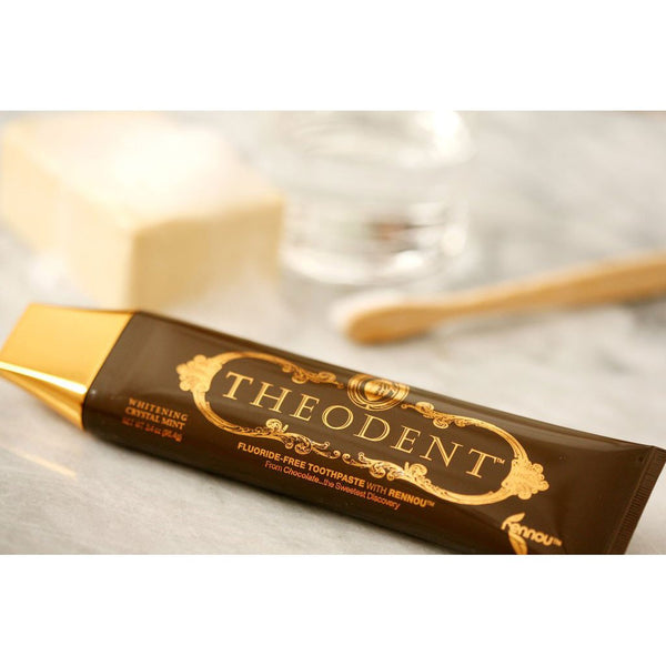Theodent Toothpaste - Flouride Free - Luxury - Mint Classic - 3.4 oz -Oral Care- Allergy Free Me