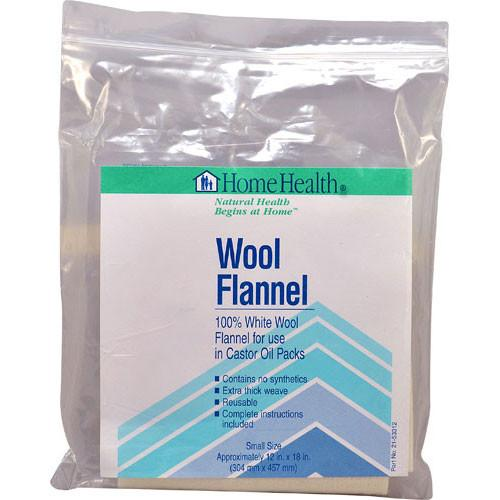 Home Health Wool Flannel Small - 1 Cloth -Medical- Allergy Free Me
