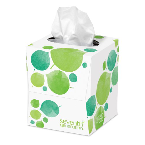Seventh Generation Recycled Facial Tissue - Cube - Case of 36 - 85 Count - {shop_name}