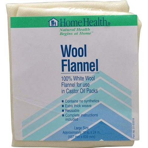 Home Health Wool Flannel Large Size - 1 Cloth -Medical- Allergy Free Me