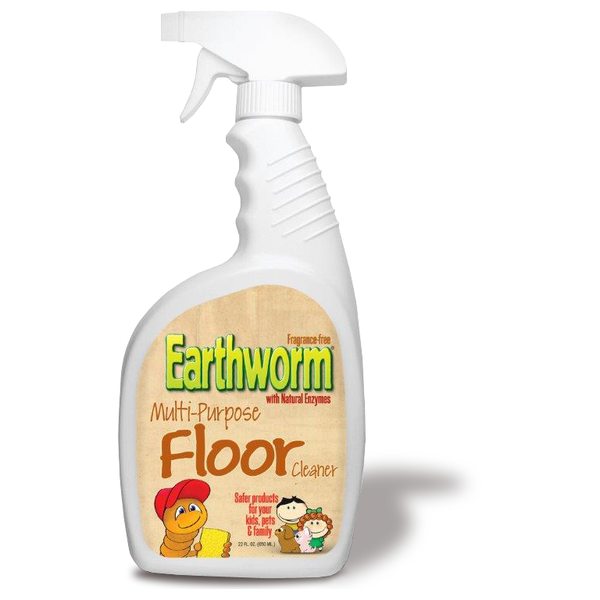 Earthworm Multi - Purpose Floor Cleaner - Case of 6 - 22 FL oz. - {shop_name}