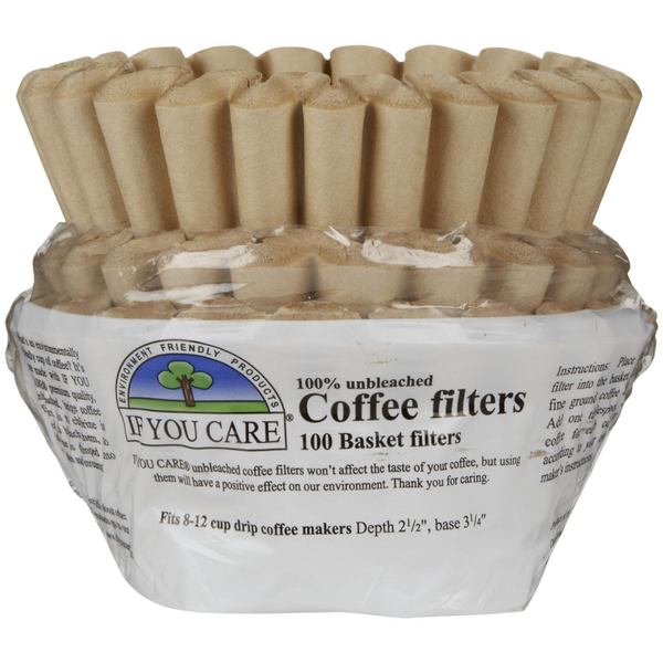 If You Care Coffee Filters - Basket - Case of 12 - 100 Count - {shop_name}