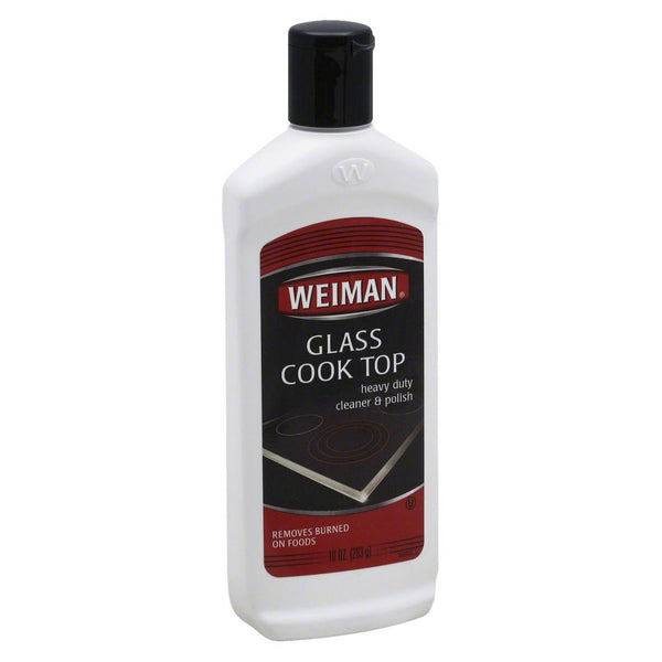 Weiman Glass Cook Top Cleaner and Polish - Case of 6 - 10 oz. - {shop_name}