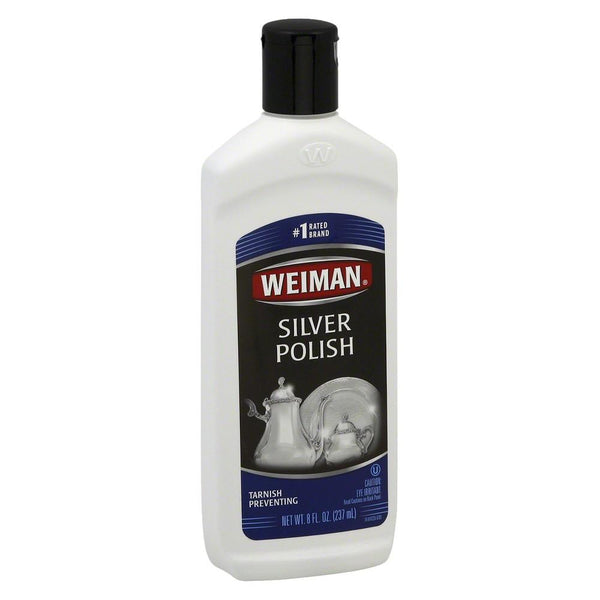 Weiman Silver - Polish - Case of 6 - 8 Fl oz. - {shop_name}