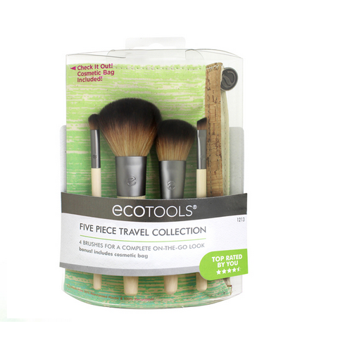 Eco Tools Face Makeup Brushes - Travel Collection - Case of 2 - 1 Count - {shop_name}