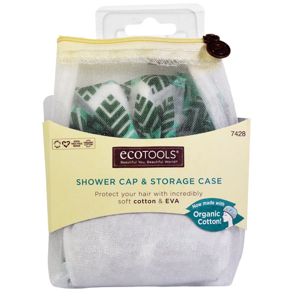 Eco Tools Shower Cap - Case of 4 - 1 Count - {shop_name}