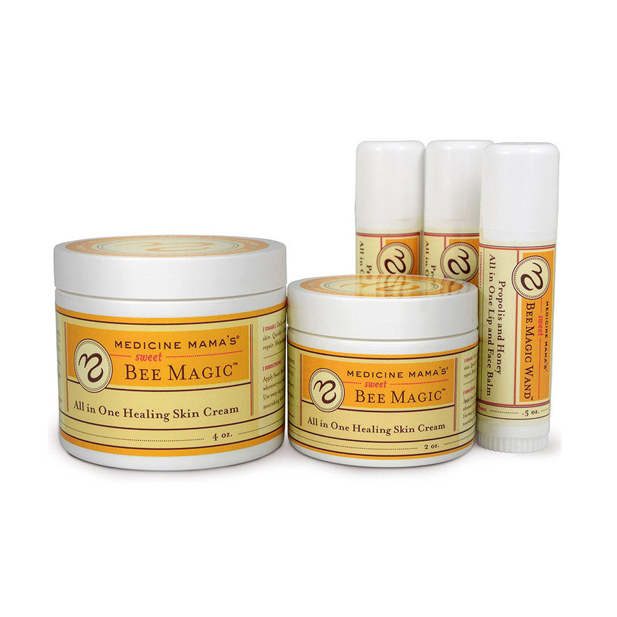 Medicine Mama's Deluxe Family Kit - Sweet Bee Magic Jars and Wands