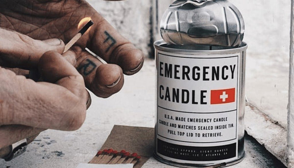 Emergency Candles // Designed With Purpose.