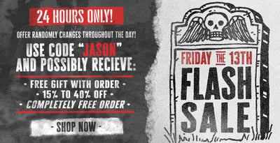 Friday the 13th Flash Sale