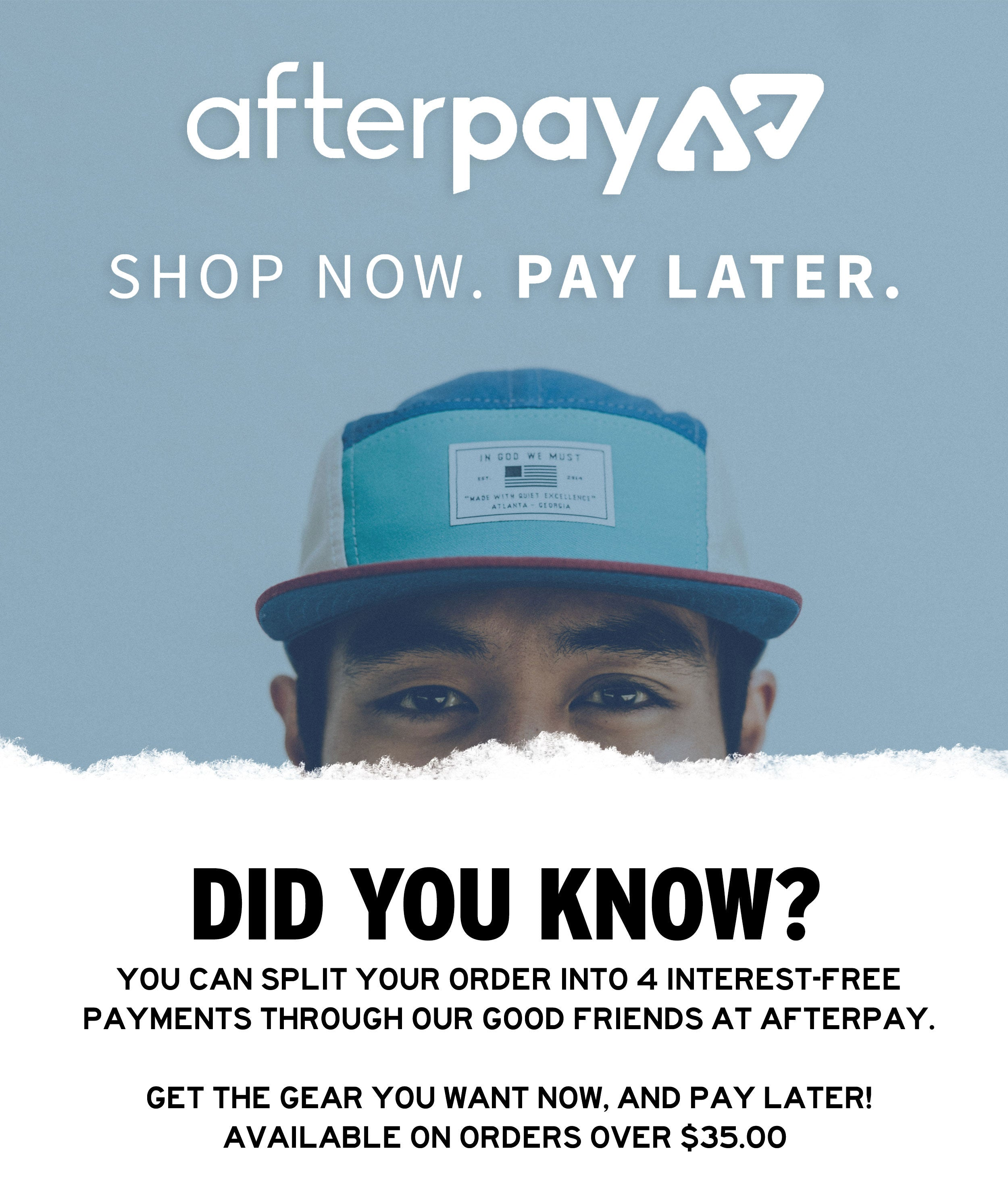 Shop Now, Enjoy Now, Pay Later