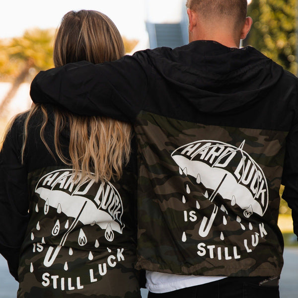 Hard Luck Lightweight Windbreaker In God We Must
