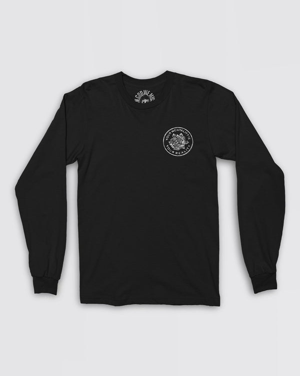 V.4 Mentality Long Sleeve Tee Apparel In God We Must