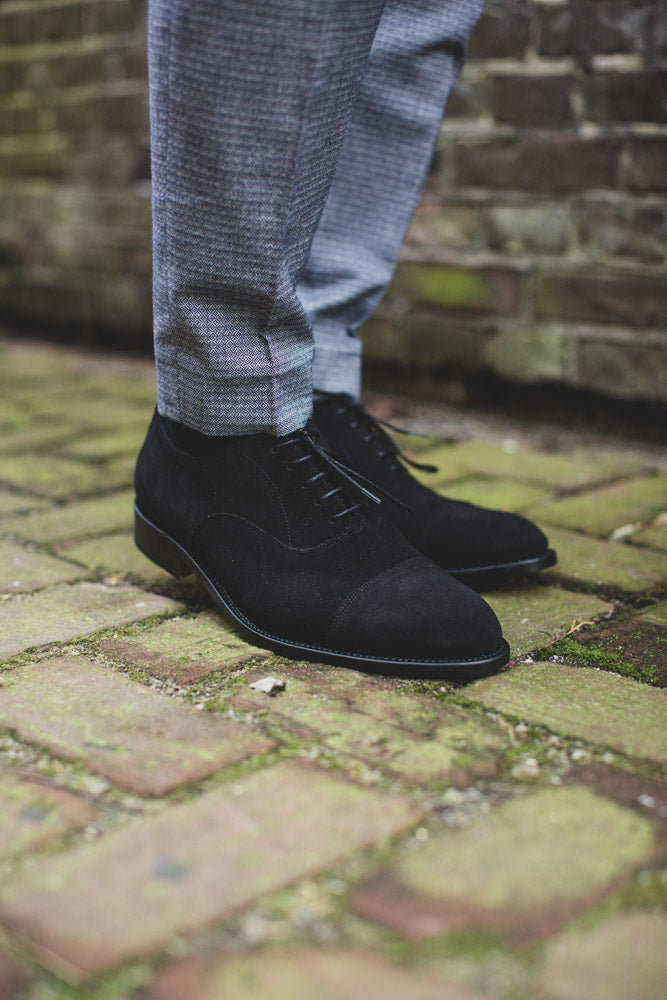 Downtown Black Suede