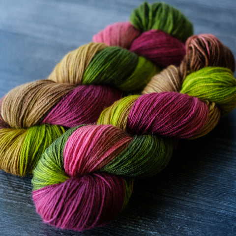 Willow Sock: Winesap