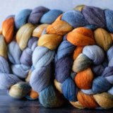 Targhee/silk spinning fiber: Basin and Range, 4 oz