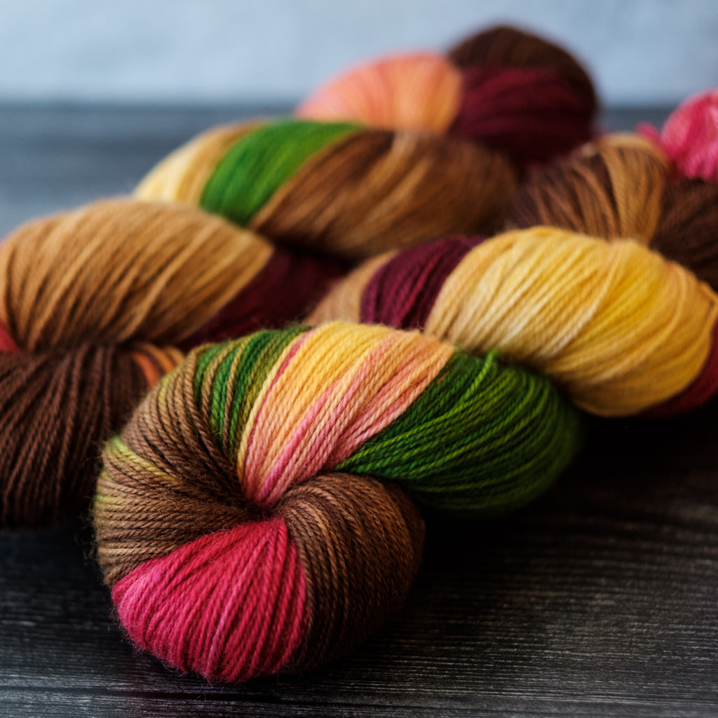 Willow Sock: Honeycrisp