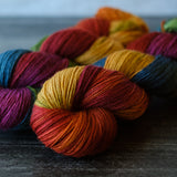 Willow Sock: Red Oak