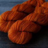 Willow Sock: Persimmon
