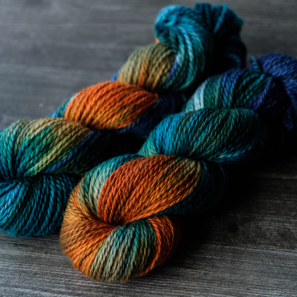 2-Ply Aran: Copper Canyon