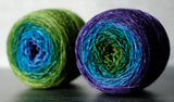 Gradient sock-weight yarn: Secret Garden