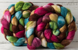 Merino/silk spinning fiber: Be the Change, 4 oz