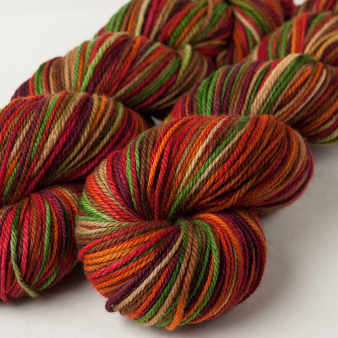 American Dream Worsted: Cranberry Autumn